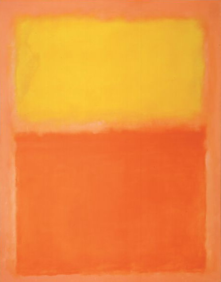 Orange and Yellow, 1956